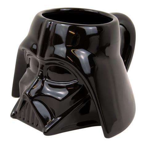 Star Wars Darth Vader Shaped MUG Ceramic Coffee TEA CUP Film Luke Gift Official   eBay