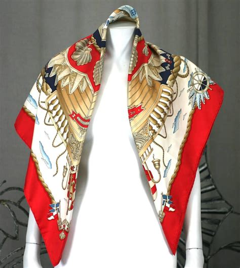 hermes nautical scarf quot railing quot for sale at 1stdibs