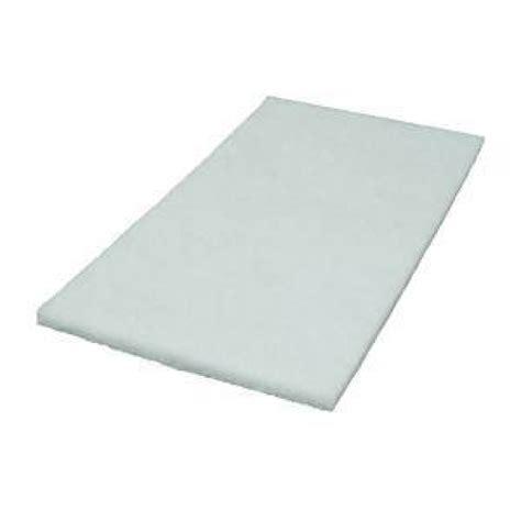 Scrubbing Pad 12 x 18 inch white square scrub pads 5 pads per