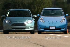 Ford Leaf Ford Focus Electric On The Ev That Drives Like A