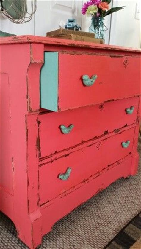 best 25 coral dresser ideas on coral painted dressers coral painted furniture and
