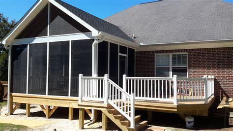 Carolina Sunrooms Custom Decks Porches Patios Sunrooms And More