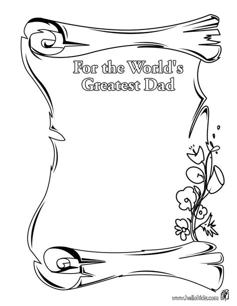 for the world greatest dad coloring pages hellokids com