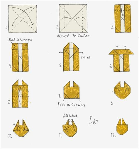 how to origami millennium falcon