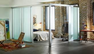Glass Room Divider Loft Room Dividers Custom Sliding Glass Room Dividers For Lofts