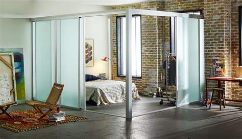 glass room divider loft room dividers custom sliding glass room dividers