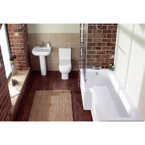 l shape shower bath l shape shower bath left handed buy at bathroom city