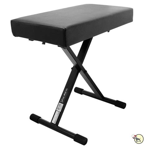piano stand and bench on stage stands kt7800 plus deluxe x style keyboard piano