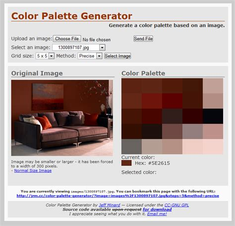 Room Palette Generator | interior color scheme generator home design