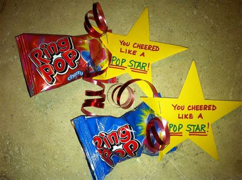 cute themes for teams cheer treats from team mom cheer goodies pinterest