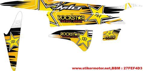 Striping Wave S 100 Supra X Fit New striping motor mio rockstar stikermotor net stikermotor net