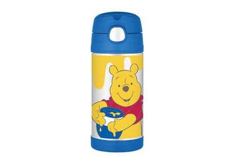 Thermos Disney thermos straw bottle f4014wps disney winnie the pooh straw bottle