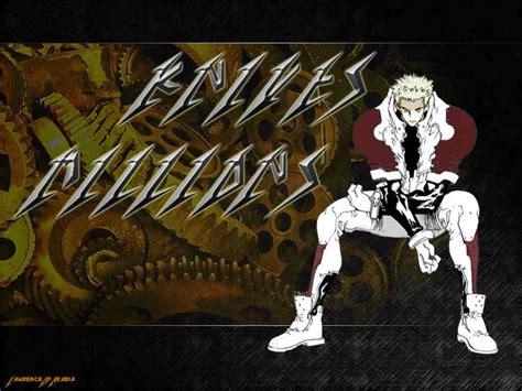 millions knives trigun free anime wallpaper site