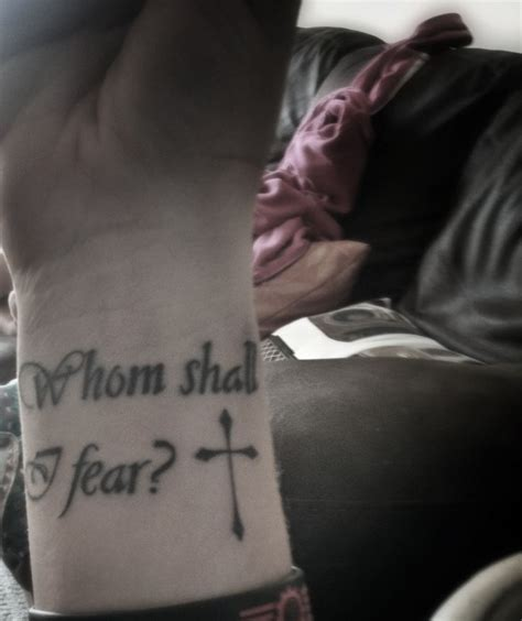 psalm 27 1 tattoo pin by natalie geerlinks on tatoos and peircing