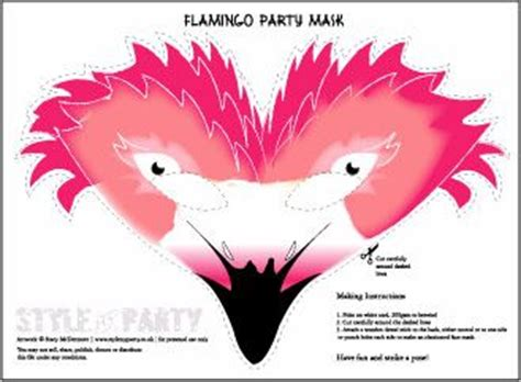 flamingo party flamingos and party masks on pinterest