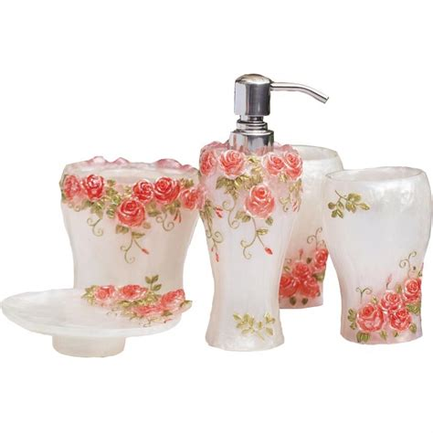 red rose bathroom accessories red rose bathroom accessories 28 images amazon com