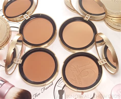 faced the ultimate bronzer wardrobe i all the words