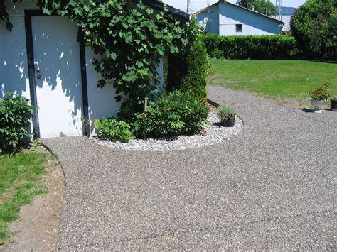 exposed aggregate patio midstream