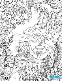 coloriages mandala jardin secret fr hellokids
