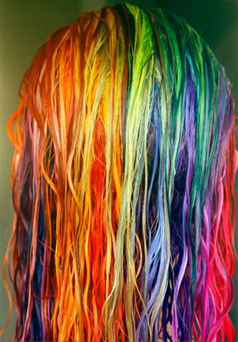 awesome colors hair hair dye dye rainbow colorful i want to dye my