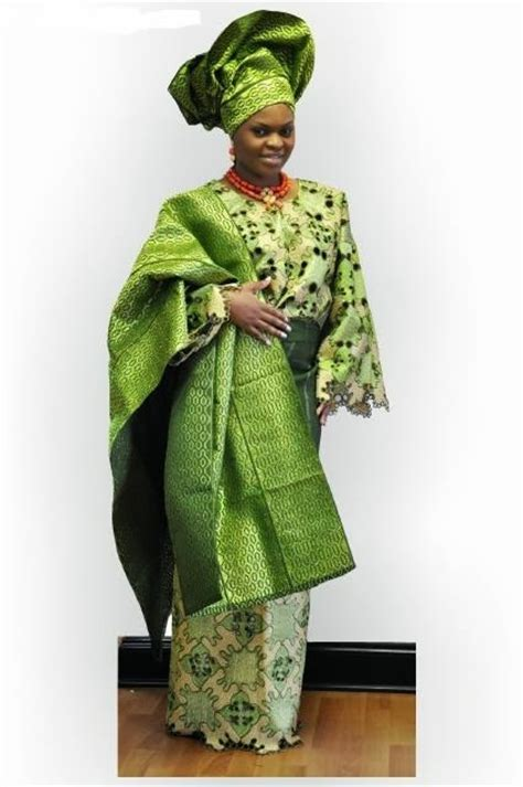 aso oke african fabric african clothes store african clothing exquisite handcut green lace aso oke