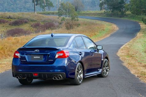 subaru wrx spoiler 2016 more gear and price update for 2016 subaru wrx and wrx sti