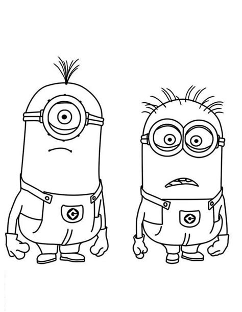 coloring pages minion stuart stuart and jerry minion coloring pages 187 coloring pages