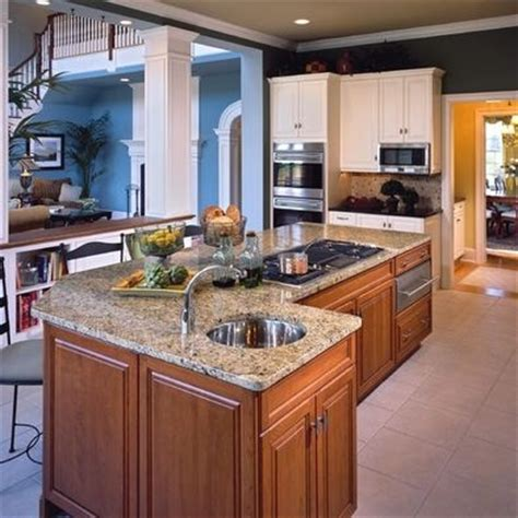 Kitchen Islands With Cooktop | cooktop on island kitchen remodel pinterest