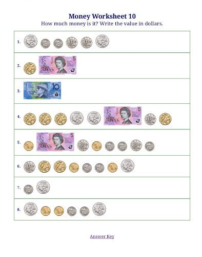 counting money worksheets 187 counting money worksheets