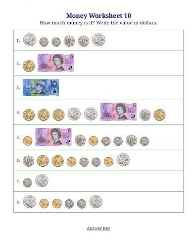australian money worksheets counting money worksheets 187 counting money worksheets
