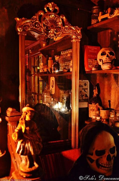 annabelle doll at warrens occult museum inside the warrens occult museum terrifying basement