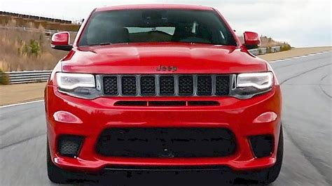 nueva jeep grand 2018 2018 jeep grand trackhawk 707hp the most