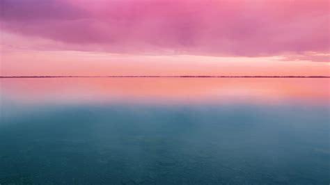wallpaper pink clouds sunset stock hd nature