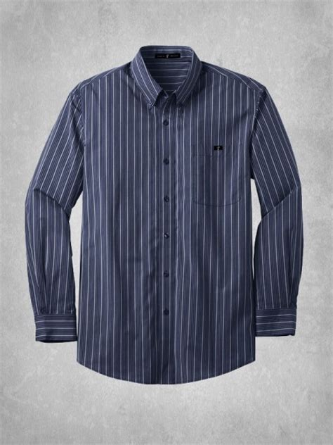 Navy Stripe Vertical Shirt s vertical stripe dress shirt