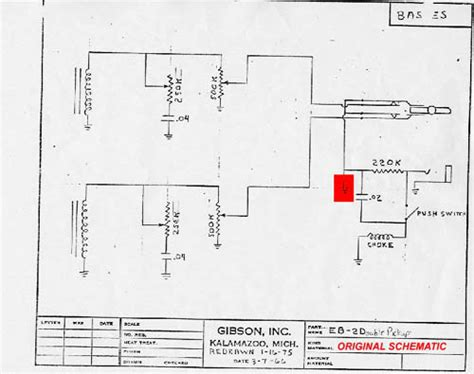 gibson thunderbird wiring diagram 33 wiring diagram