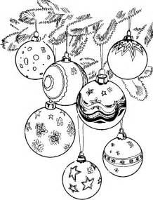 christmas balls coloring pages coloringpages1001 com