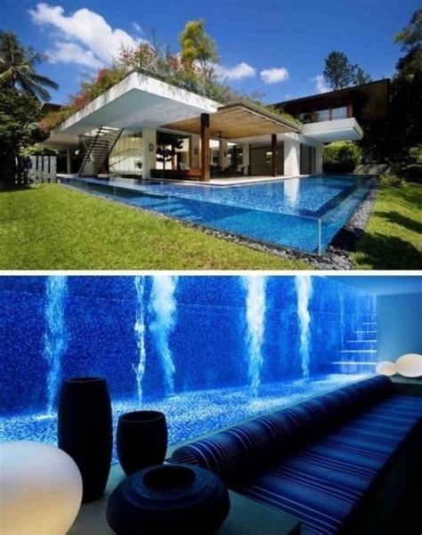 casa sull acqua il fascino designle ed i giochi d acqua il
