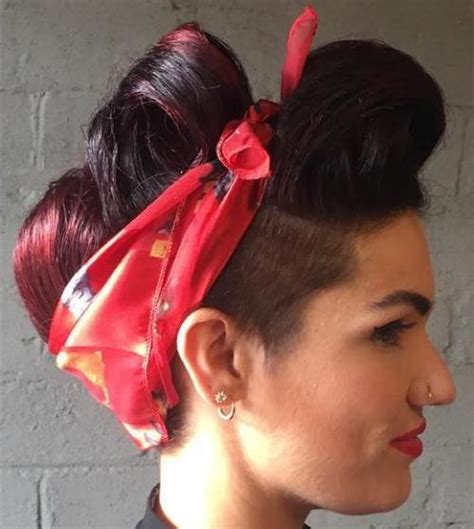 Rockabilly Hairstyles With Bandana by 20 Gorgeous Bandana Hairstyles For Cool