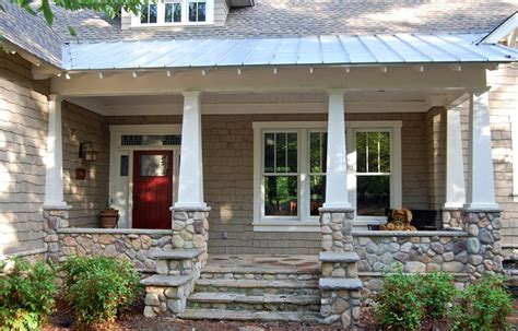 craftsman porch lake oconee craftsman
