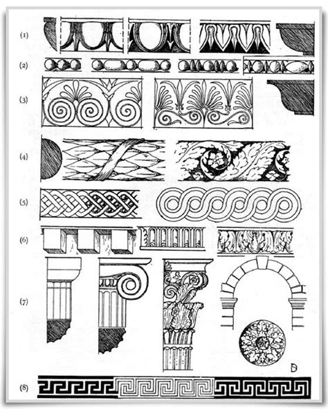 design pattern history greek and roman carved mouldingscarved moldings of the