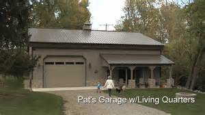 Two story garages with living quarters steel garage with living