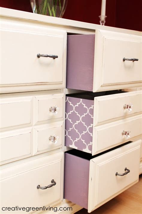 How To Paint Drawers by How I Transformed A Curbside Dresser Into An
