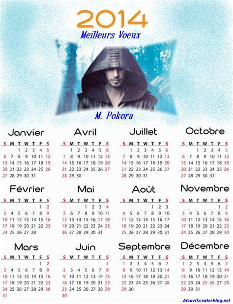 Calendrier M Pokora 2014 Calendrier Bleu Vif 2014 M Pokora Robin Des Bois Centerblog
