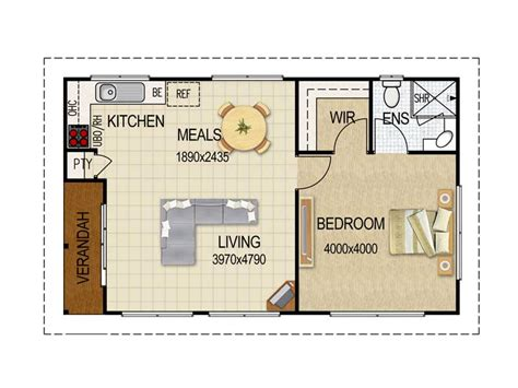 flat floor plan design granny flat plans on pinterest granny flat 3d house