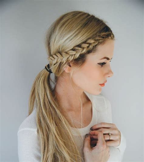 ridiculously easy  minute braids brit