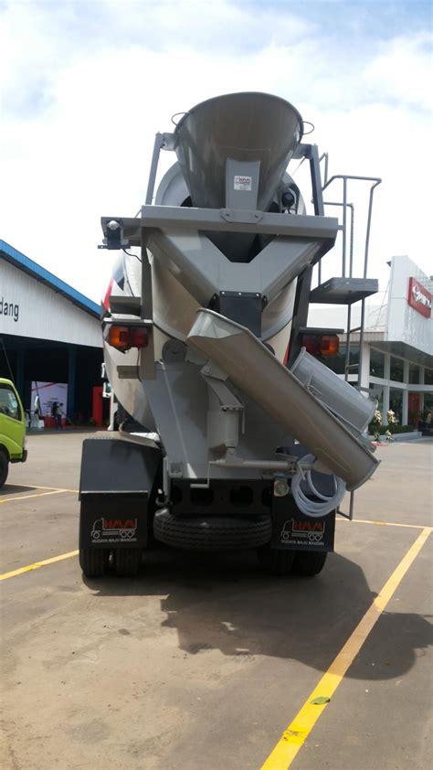 Truk Mixer Hino fm 260 jm jual truk hino mixer fm ranger kapasitas 7m3