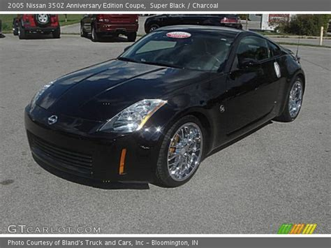 2005 nissan 350z black black 2005 nissan 350z anniversary edition coupe