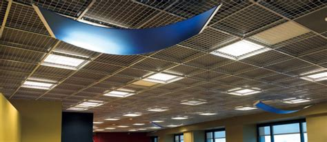 Armstrong Metal False Ceiling by Armstrong Metal Works Mesh Ceiling Hysteria Brewery