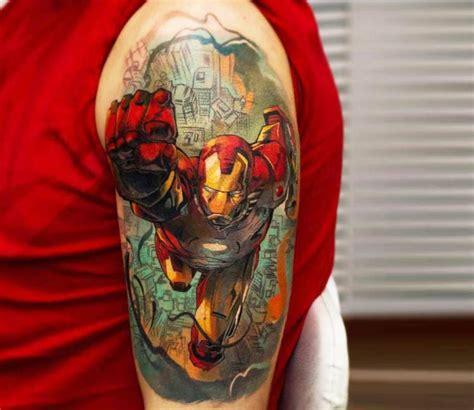 iron man tattoo tymur denysenko post