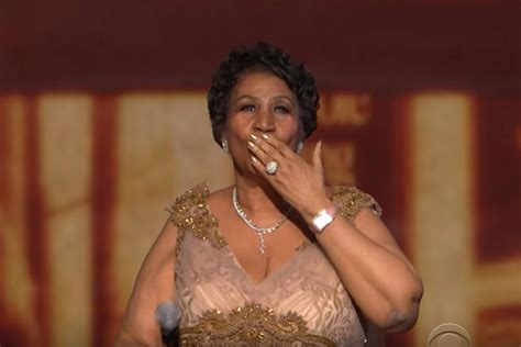 Larger Than Aretha Franklin Is Still A Big Big by Aretha Franklin Reduces President Obama To Tears With A